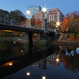 Juergen Roth - Historic Lagoon Bridge at the Boston Public Garden