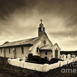 Jerry Cowart - Historic Old Adobe Spanish Style Catholic Church San Ysidro New Mexico