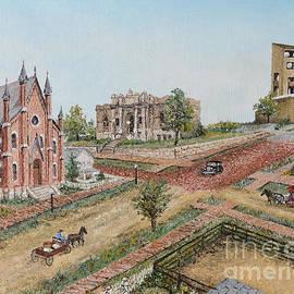 Mary Ellen Anderson - Historic Street - Lawrence Kansas