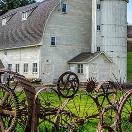 Gary Whitton - Historic Uniontown Washington Dairy Barn