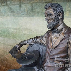 Luther   Fine Art - History - Abraham Lincoln Contemplates -  Luther Fine Art