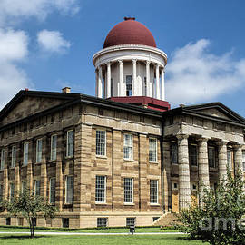 Luther Fine Art - History -  Illinois Old Capitol Building - Luther Fine Art