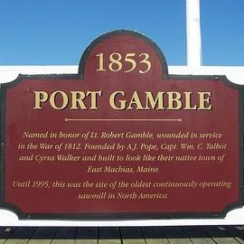 Patti Walden - History of Port Gamble Washington