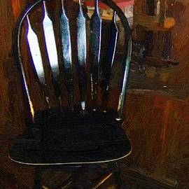 RC DeWinter - Hitchcock Chair in the Corner