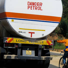 Robert Ford - Hitchhiker Bicyclist and Tanker Truck Rwanda