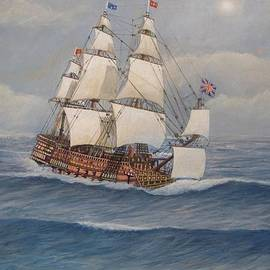 William H RaVell III - HMS Royal Sovereign