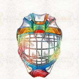 Sharon Cummings - Hockey Art - Goalie Mask Patent - Sharon Cummings