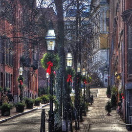 Joann Vitali - Holidays on Beacon Hill - Boston