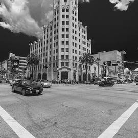 Scott Campbell - Hollywood and Highland Black and White