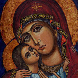 Ketti Peeva - Holy Virgin with the Child