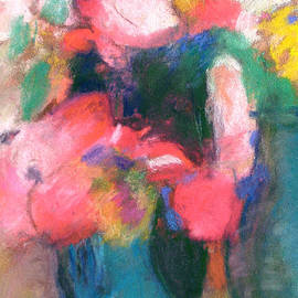 Tolere - Homage to Three Vases by Redon