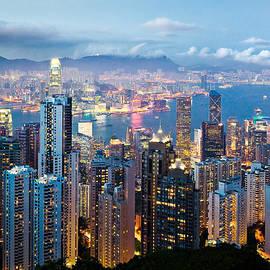 Dave Bowman - Hong Kong at Dusk