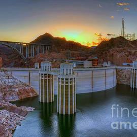 Eddie Yerkish - Hoover Dam at Sunset