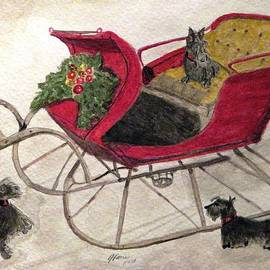 Angela Davies - Hoping For A Sleigh Ride