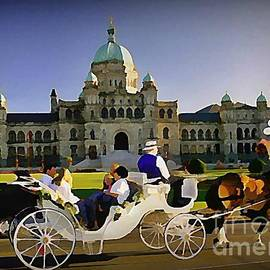 John Malone - Horse and Carriage in Victoria British Columbia