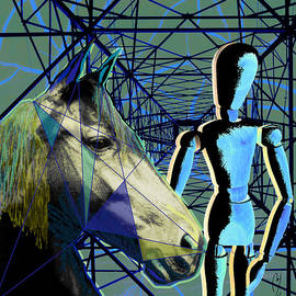 Maria Jesus Hernandez - Horse and rider