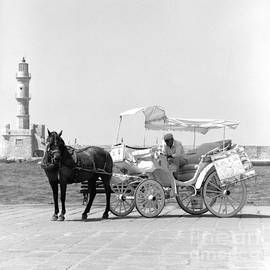 Paul Cowan - Horse buggy and lighthouse