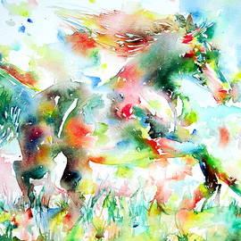 Fabrizio Cassetta - Horse Painting.36