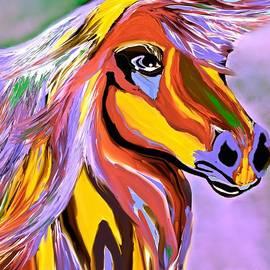 Saundra Myles - Horse Posing Pretty 2
