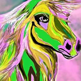 Saundra Myles - Horse Posing So Pretty