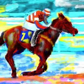 Bruce Nutting - Horse Race