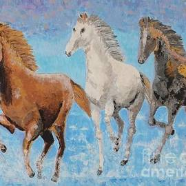 Vicky Tarcau - Horses from Troy