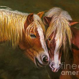 William Cain - Horses In Love Art Print