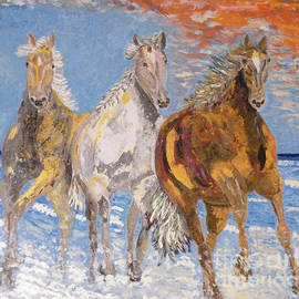 Vicky Tarcau - Horses on the Beach