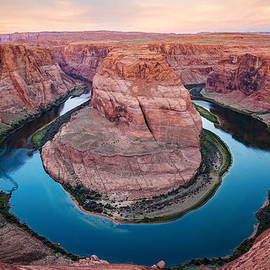Gregory Ballos - Horseshoe Bend Morning - Page Arizona