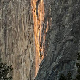 Patricia Sanders - Horsetail Falls Sunset