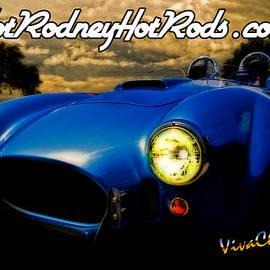 Chas Sinklier - Hot Rodney Hot Rods Cobra Poster