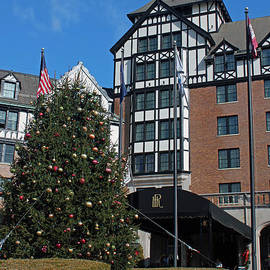 Suzanne Gaff - Hotel Roanoke at Christmas