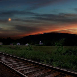 Bill  Wakeley - Housatonic Railroad Sunset