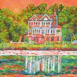Kendall Kessler - House by the Tidal Creek at Pawleys Island