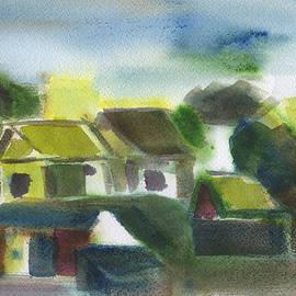 Frank Bright - Homes Watercolor