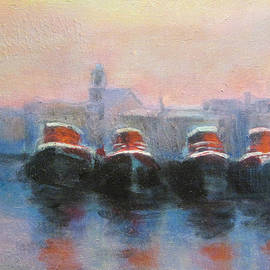 David Zimmerman - Huddled Tugs