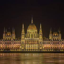Joan Carroll - Hungarian Parliament Building Night