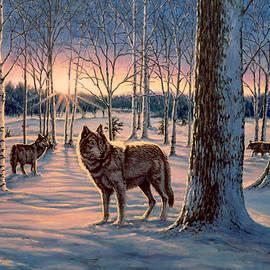 Richard De Wolfe - Hunters at Twilight