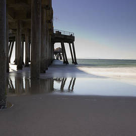 Heidi Smith - Huntington Beach Pier - Looking Out