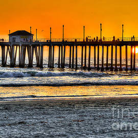 Jim Carrell - Huntington Beach Sunset