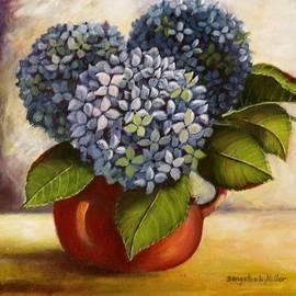 Sandra Sengstock-Miller - Hydrangeas in jug