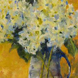 Peggy Ellis - Hydrangeas Yellow
