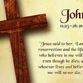 Jabez Posters - I Am the Resurrection...
