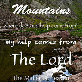 Aaron Spong - I Lift my Eyes to the Mountains Psalm 121