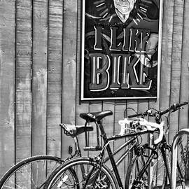 Kathleen K Parker - I Like Bike - Black and White