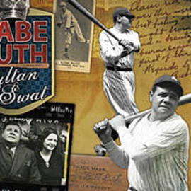 Retro Images Archive - I swing big Babe Ruth