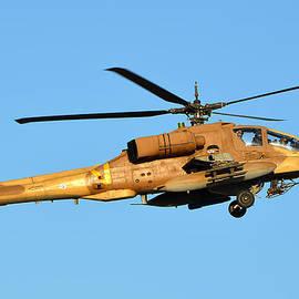 Ido Oriane - IAF Boeing AH-64A Peten 820
