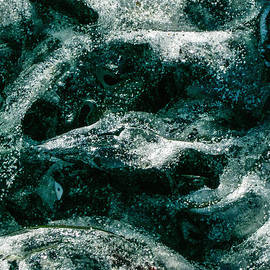 Kim Lessel - Ice Abstract