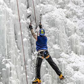 Sam Amato - Ice Climbing Alaska