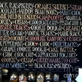 Barbara Chase - Ice Cream Flavors
